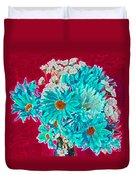 Beneath The Bouquet Duvet Cover
