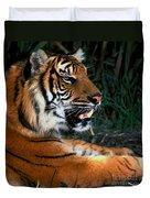 Bengal Tiger - Teeth Duvet Cover