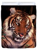 Bengal Tiger In Thought Duvet Cover