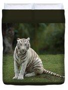 Bengal Tiger Panthera Tigris Tigris Duvet Cover