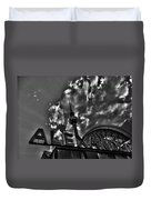 Berlin Alexanderplatz Duvet Cover by Juergen Weiss