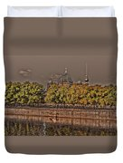 Berlin Cathedral ... Duvet Cover by Juergen Weiss