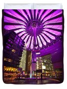 Berlin Sony Center Duvet Cover