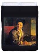 Bernard Le Bovier De Fontenelle, French Duvet Cover by Science Source