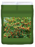 Berries In Profusion Duvet Cover