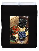 Berries Duvet Cover by Photo Researchers