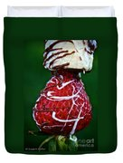 Berry Banana Kabob Duvet Cover by Susan Herber