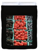 Berry Baskets Duvet Cover