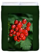 Berry Brilliant Duvet Cover