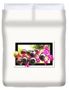 Berry Burst   Poke Berries Duvet Cover