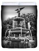 Bethesda Fountain Duvet Cover