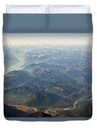 Between Vancouver And Kelowna Bc Canada Duvet Cover
