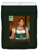 Beverage Wench Duvet Cover