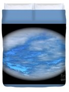 Beyond The Clouds Duvet Cover