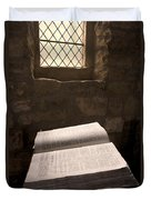Bible In A Church, Rosedale, North Duvet Cover