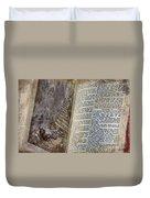 Bible Pages Duvet Cover
