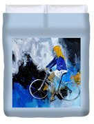 Bicycle 77 Duvet Cover