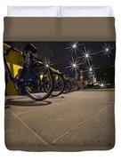 Bicycle Lane Duvet Cover