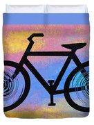Bicycle Shop Duvet Cover