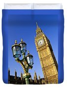 Big Ben And Palace Of Westminster Duvet Cover