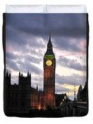 Big Ben Sunset Duvet Cover