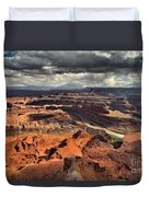 Big Bend In The Colorado Duvet Cover