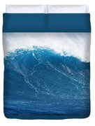 Big Blue Wave Duvet Cover