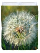 Big Dandelion Seed Duvet Cover