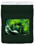 Big Green Cabbage Duvet Cover