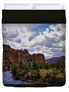 Big Horn National Forest Duvet Cover