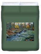 Big Hunting Creek Upstream From Cunningham Falls Duvet Cover