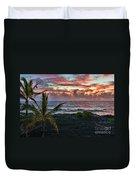 Big Island Sunrise Duvet Cover