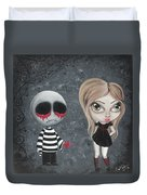 Big Juicy Tears Of Blood And Pain 8 Duvet Cover