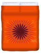 Big Orange Duvet Cover