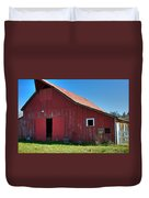 Big Red Barn Duvet Cover