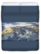 Big Rock Candy Mountains Duvet Cover