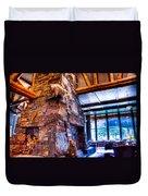 Big Sky Lodge Interior Duvet Cover