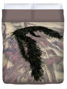 Big Sur Sand And Algae Duvet Cover