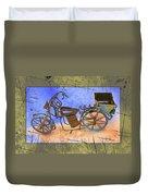Bike 2a Duvet Cover