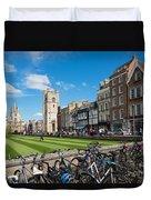 Bikes Cambridge Duvet Cover