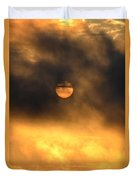 Billowing Sunrise Duvet Cover
