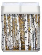 Birch Trees No.0644 Duvet Cover