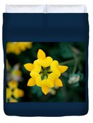 Bird's Foot Trefoil Duvet Cover