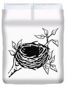 Birds Nest Duvet Cover