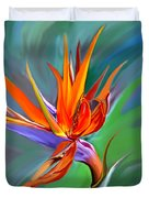 Birds Of Paradise 1 Duvet Cover