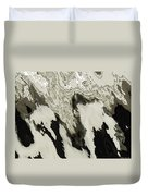 Black And White Abstract I Duvet Cover