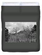 Black And White Aspen Duvet Cover
