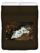 Black And White Spotted Budibranch Duvet Cover