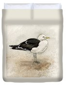 Black Backed Gull  Duvet Cover