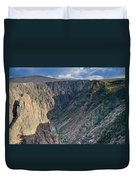 Black Canyon Afternoon Duvet Cover